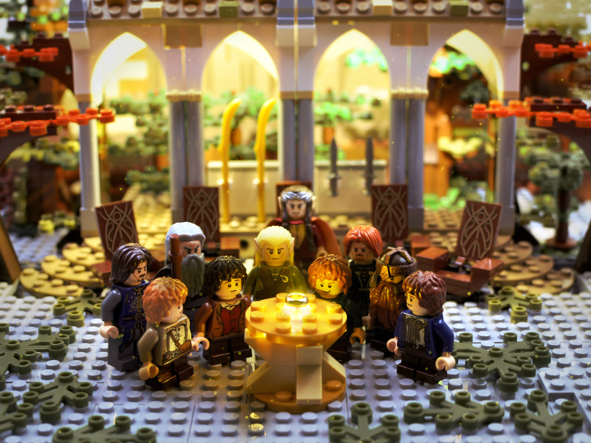 The Lord of the Rings in Lego: Part Two