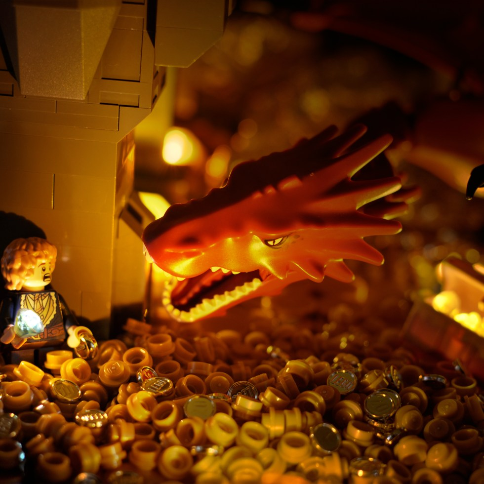 The Hobbit in Lego: Part Three