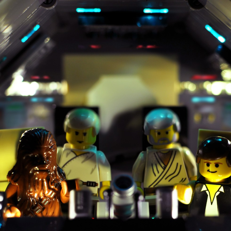 Star Wars in Lego: 2000-2001