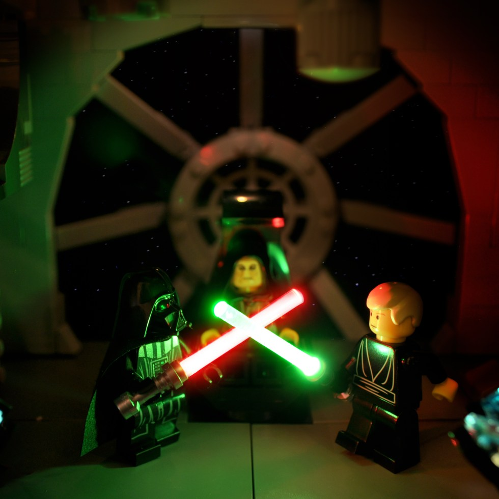 Star Wars in Lego: 2002