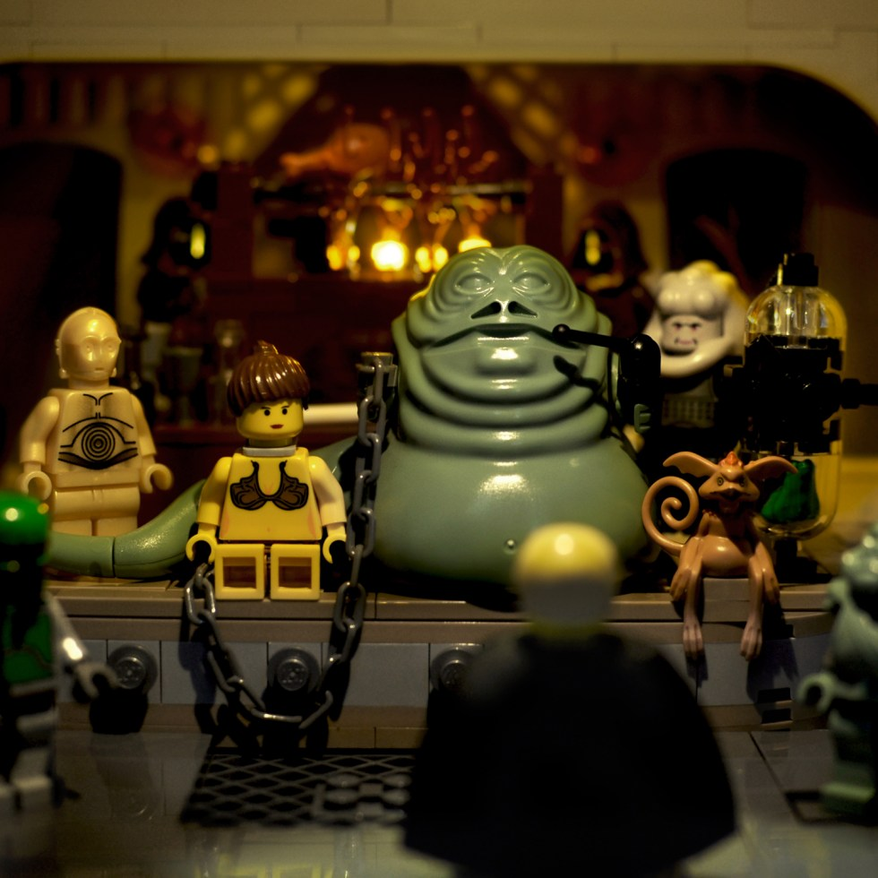 Star Wars in Lego: 2003-2004