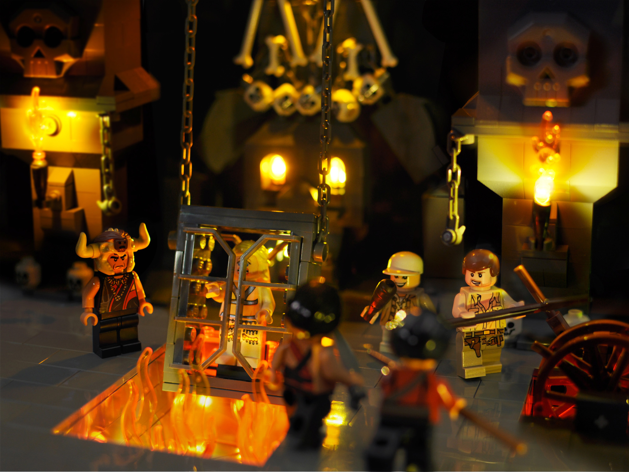A look at the Lego Indiana Jones minifigures from 2008-2009.