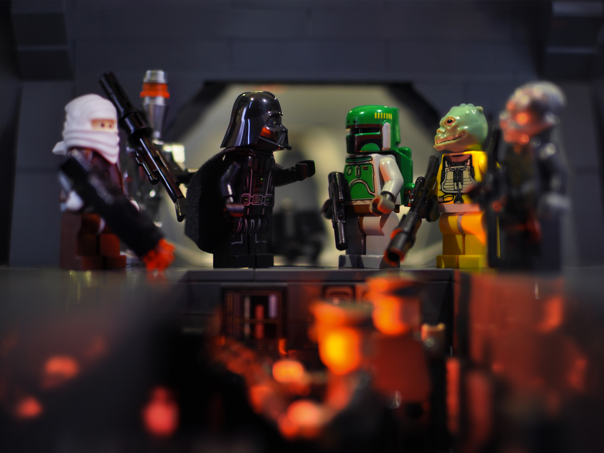 A look at the Lego Star Wars minifigures from 2006.
