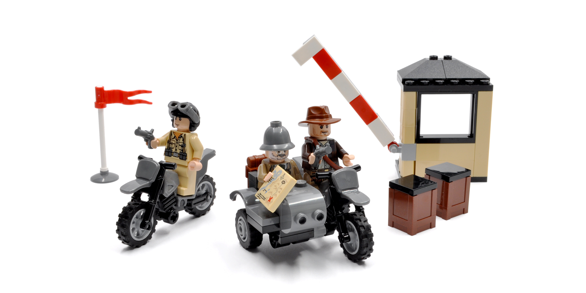 Indiana Jones Motorcycle Chase (7620)