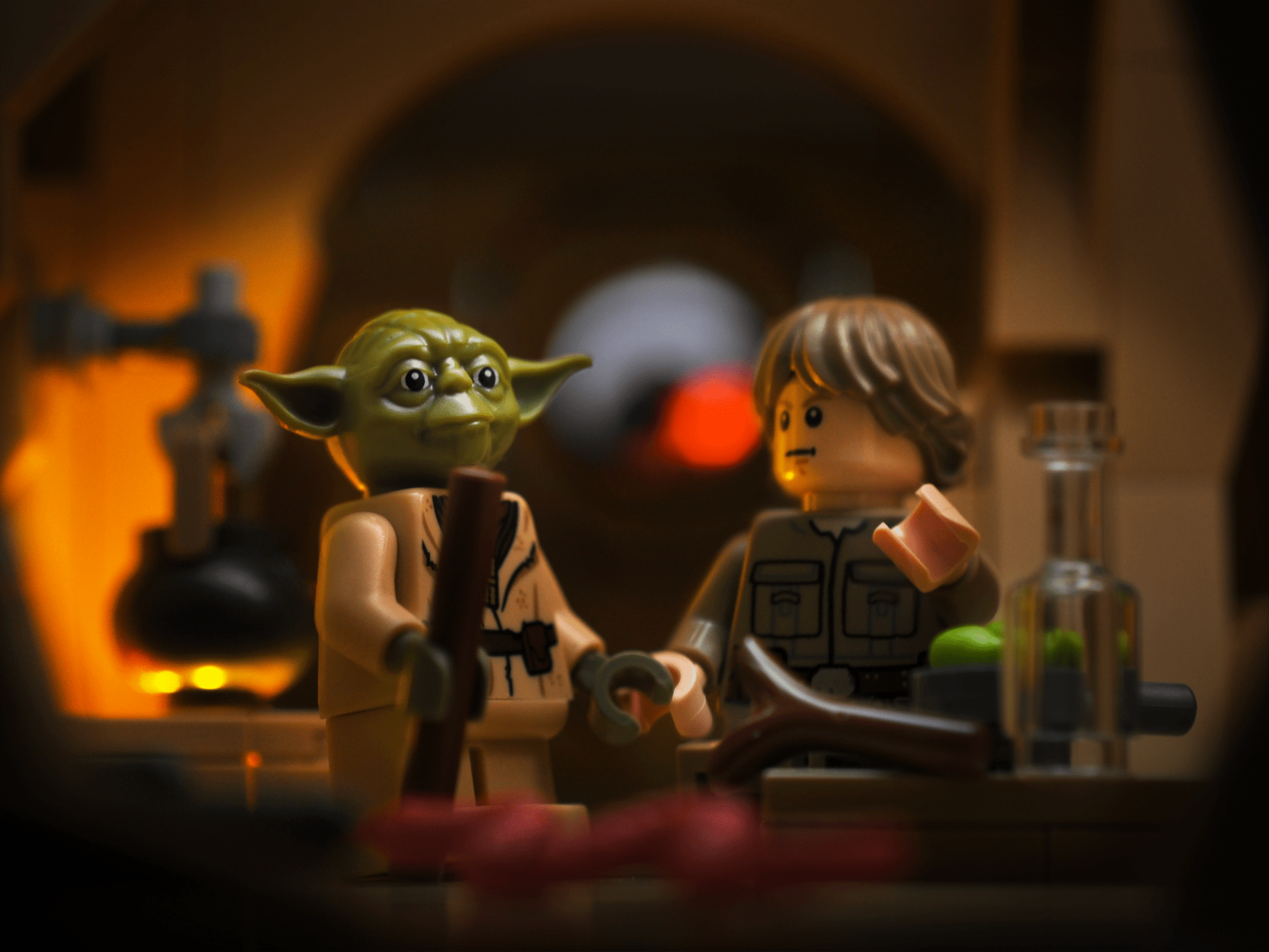 Have you ever wanted to become a Jedi? How about a Lego Jedi? If so, here's a little peek into their Lego training spots.
