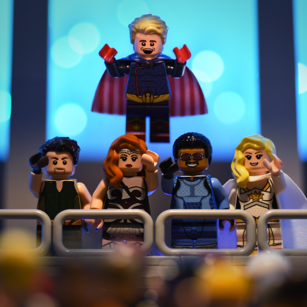 Amazon's The Boys as Brick Figures
