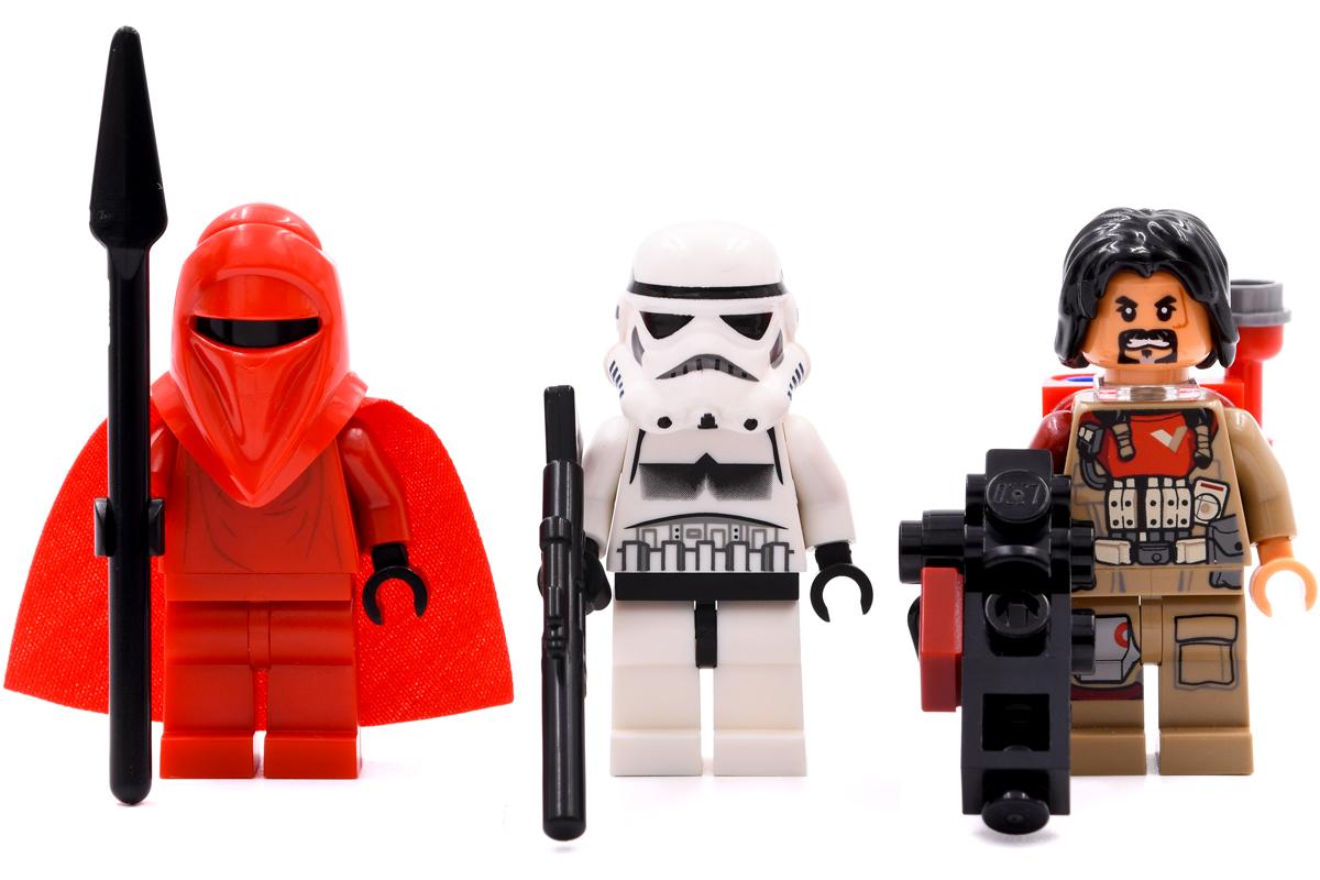 Royal Guard 2009, Stormtrooper 2009, Baze Malbus 2016