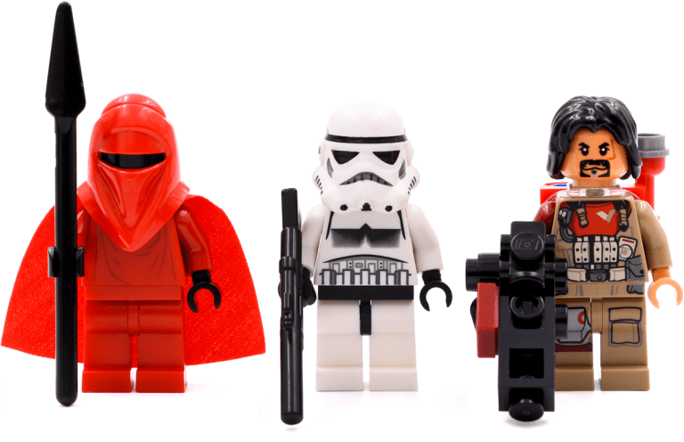 Royal Guard 2009, Stormtrooper 2009, Baze Malbus 2016