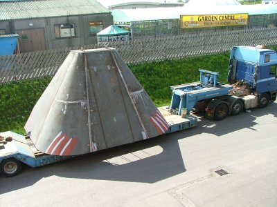 Steel Fabrication - Sponson for Semi-Submersible
