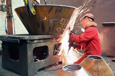 Steel Fabrication - Pressed Conical Reducer