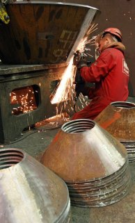 Steel Fabrication - Welded Conical Reducer
