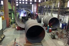 Steel Fabrication - Large Diameter Rollings