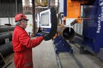 Steel Profiling - CNC Pipe Contouring Cutter