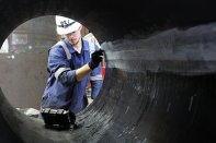 Steel Welding - Independent In-House Inspection