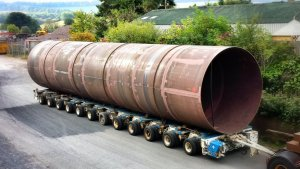 Steel Fabrication - Large Diameter Tubular (Plate Forming & Rolling)