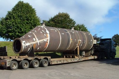 Steel Fabrication - Large Diameter Reducer
