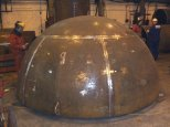 Rolling & Forming - Fabricated Dome