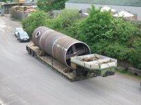Rolling & Forming - Large Tubular Offshore Crane Pedestal / Diesel Tank