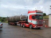 Large Tubular - Crane Pedestal / Diesel Tank