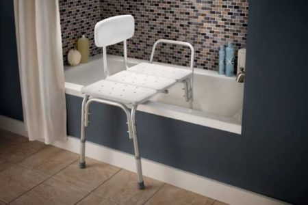 The 5 Best Shower and Bathtub Transfer Benches for Elderly People (Getting In and Out of the Tub More Safely)