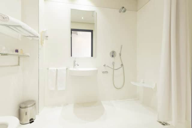wet room shower options for the disabled