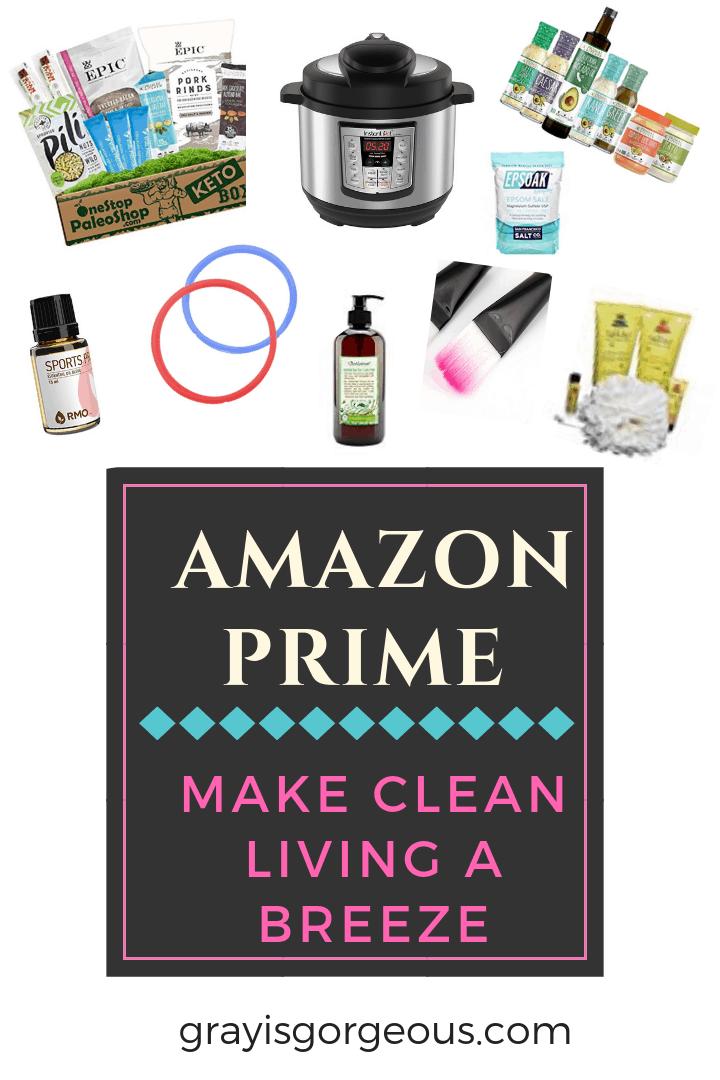 Amazon Prime Makes Following a Clean Lifestyle a Breeze