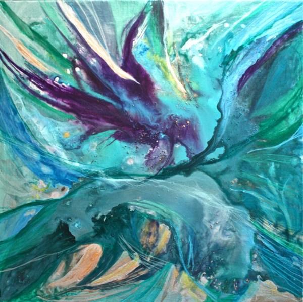 Acrylic Painting On Canvas Art