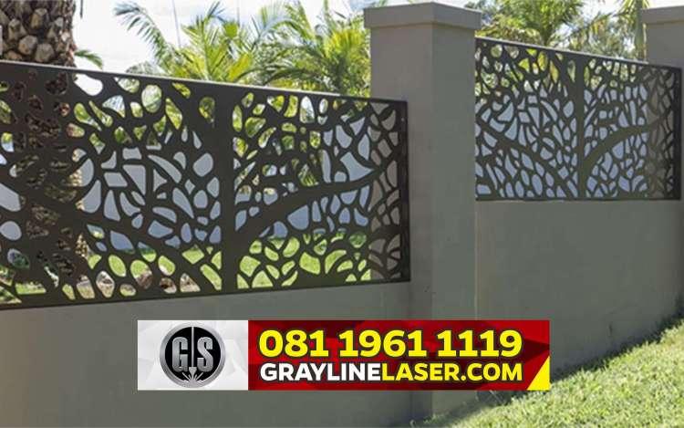 Pintu Pagar Laser Cutting Jakarta Barat