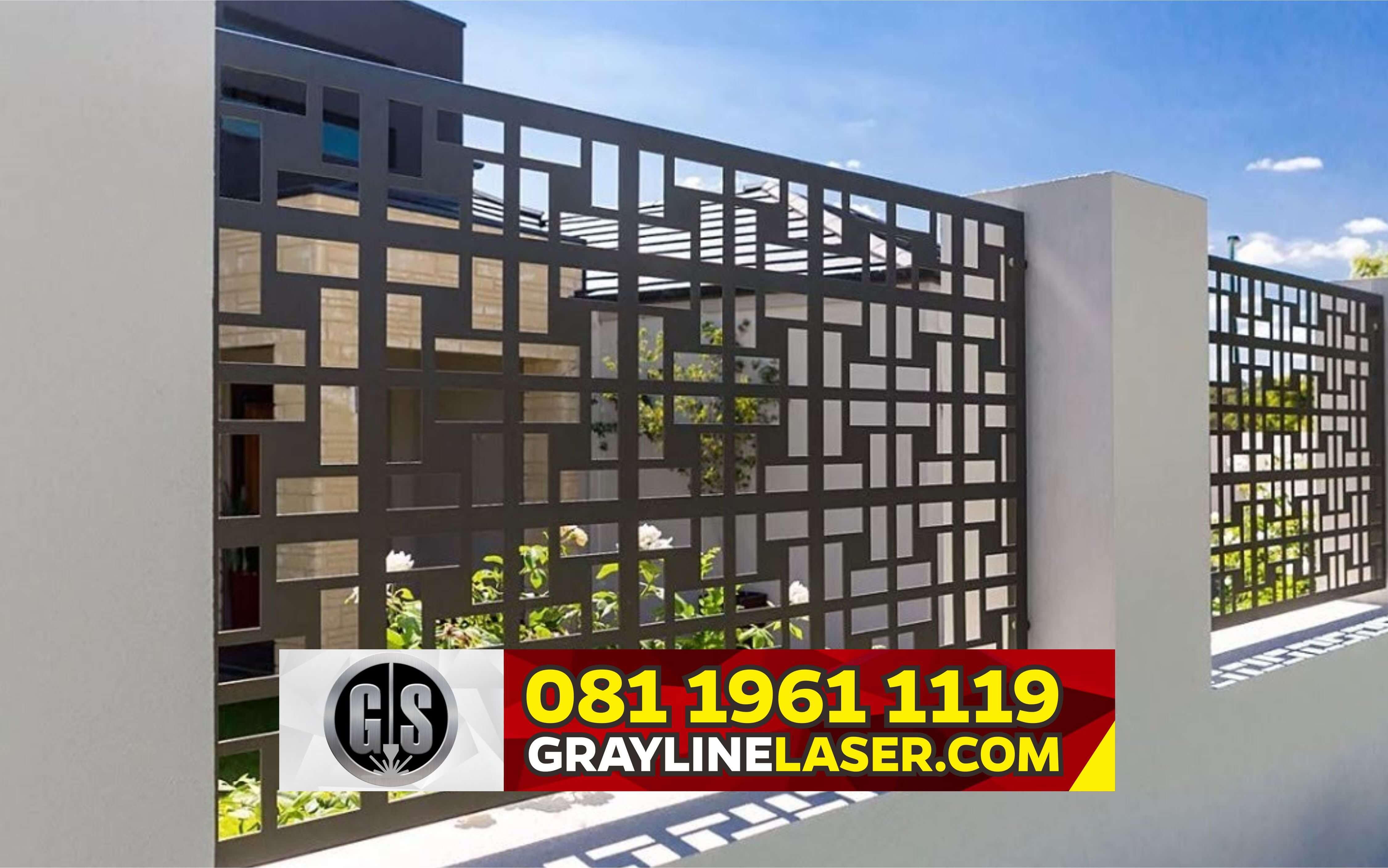 081 1961 1119 Grayline Laser Pagar Laser Cutting Bogor