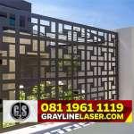 081 1961 1119 GRAYLINE LASER > Pintu Pagar Laser Cutting Tangerang