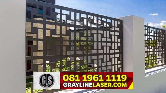 081 1961 1119 GRAYLINE LASER > Pagar Laser Cutting Bogor