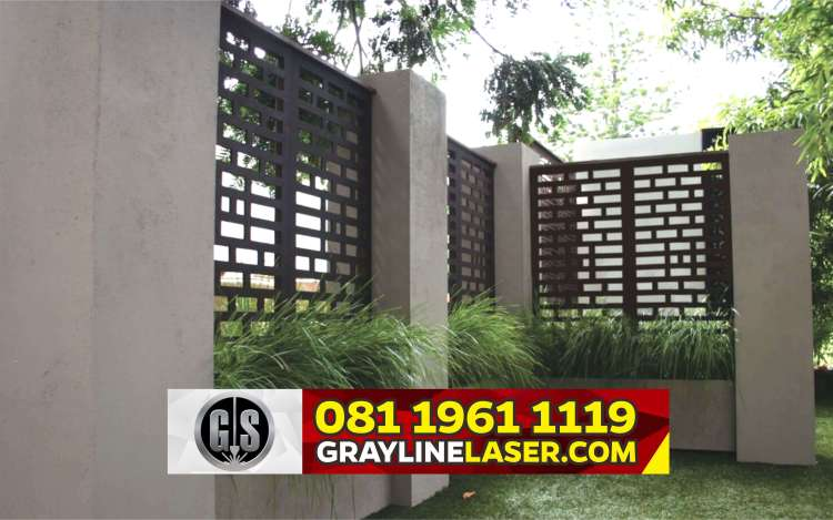 Pintu Pagar Laser Cutting Jakarta Utara
