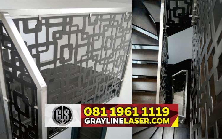 081 1961 1119 > GRAYLINE LASER | Railing Tangga Laser Cutting Bintaro