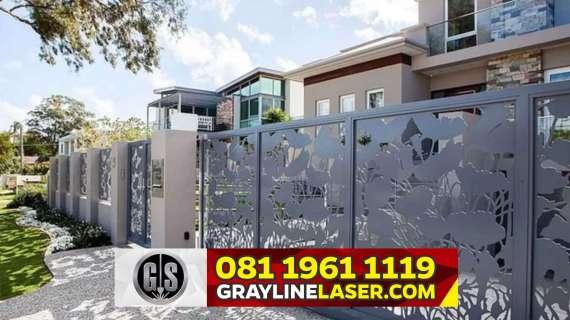 081 1961 1119 GRAYLINE LASER > Pintu Garasi Laser Cutting Bogor