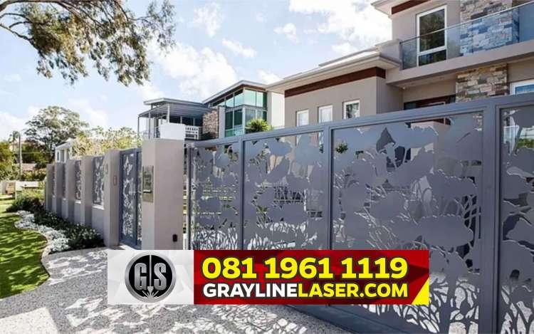 Pintu Garasi Laser Cutting Jakarta Timur