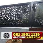 081 1961 1119 GRAYLINE LASER > Pagar Laser Cutting Jakarta