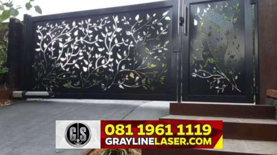 081 1961 1119 GRAYLINE LASER > Pintu Garasi Laser Cutting Depok