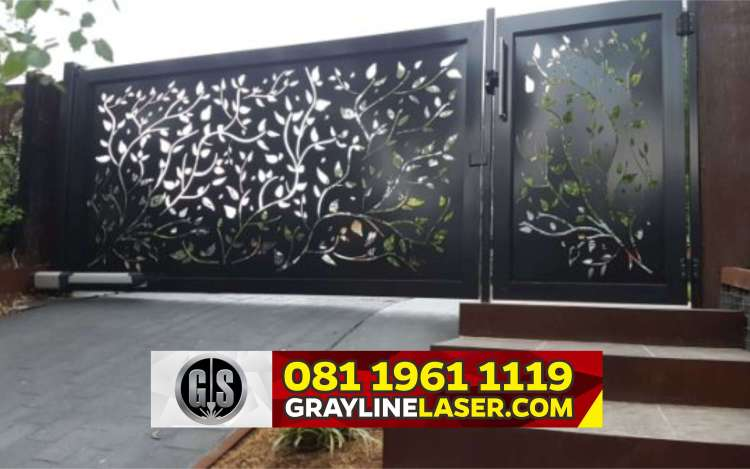 Pintu Pagar Laser Cutting Bogor