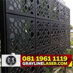 081 1961 1119 GRAYLINE LASER > Pintu Garasi Laser Cutting Bekasi