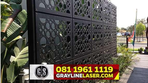 081 1961 1119 GRAYLINE LASER > Pagar Laser Cutting Jakarta Barat