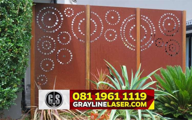 Pintu Garasi Laser Cutting Bekasi