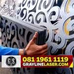 081 1961 1119 GRAYLINE LASER > Pintu Pagar Laser Cutting Depok