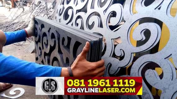 081 1961 1119 GRAYLINE LASER > Pagar Laser Cutting Tangerang