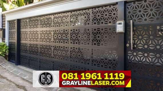 081 1961 1119 GRAYLINE LASER > Pintu Pagar Laser Cutting Jakarta