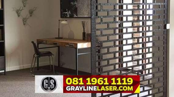 081 1961 1119 > GRAYLINE LASER | Pembatas Ruang Laser Cutting Tengerang Selatan
