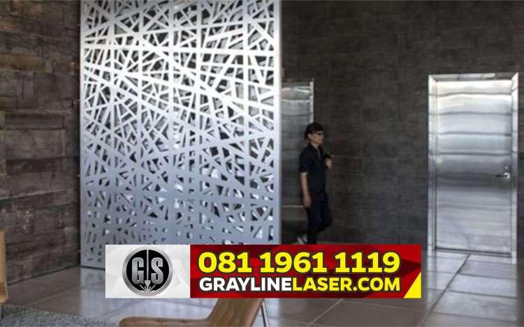 Pembatas Ruang Laser Cutting Tangerang