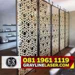 081 1961 1119 > GRAYLINE LASER | Partisi Laser Cutting Jakarta