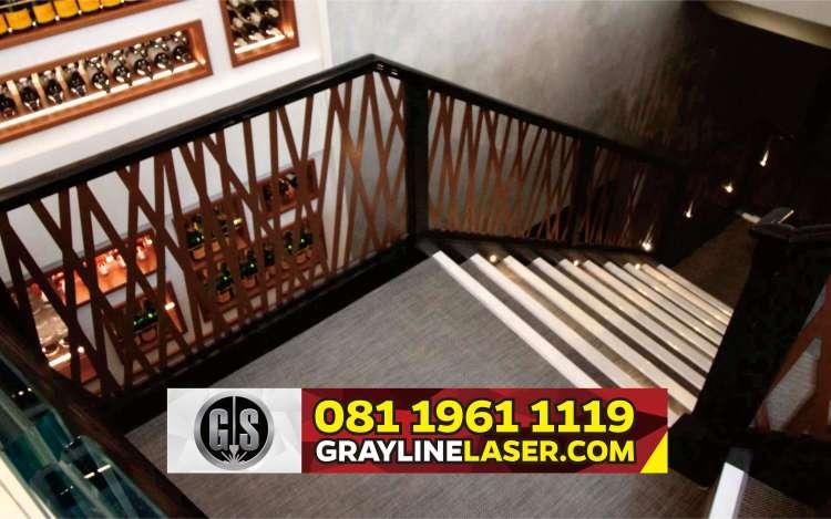 081 1961 1119 > GRAYLINE LASER | Railing Tangga Laser Cutting Pasar Minggu