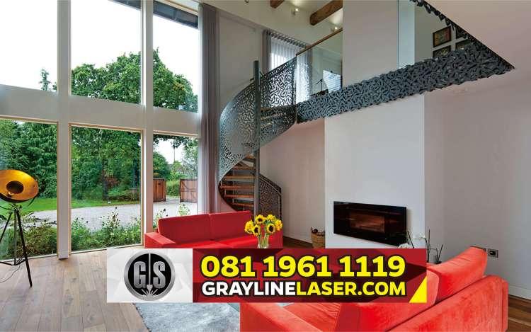 081 1961 1119 > GRAYLINE LASER | Railing Tangga Laser Cutting Kemang