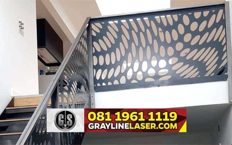 081 1961 1119 > GRAYLINE LASER | Railing Tangga Laser Cutting Sukamulya Tangerang